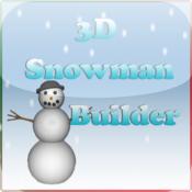 3D Snowman Builder